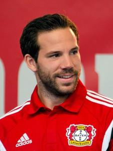Gonzalo Castro noch im Leverkusen-Dress. Quelle: Wikipedia, Foto: Fuguito, Lizenz: CC-BY-SA 4.0