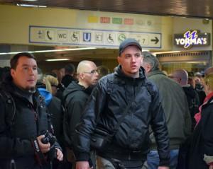 Lukas Bals am Hauptbahnhof Dortmund