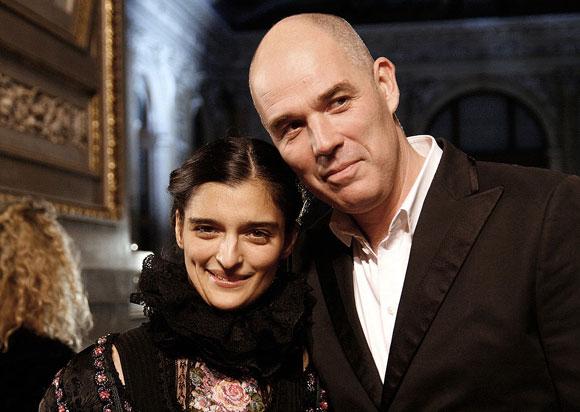 Alexandra Liedtke und Matthias Hartmann zu Gast bei der Verleihung des Nestroy-Theaterpreises 2010 im Burgtheater in Wien. Foto: Foto: Tsui Lizenz: CC BY-SA 3.0