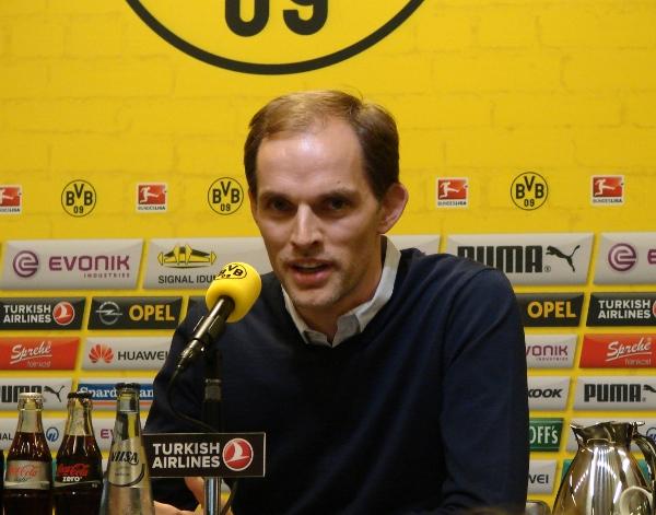 BVB-Trainer Thomas Tuchel. Foto: Robin Patzwaldt