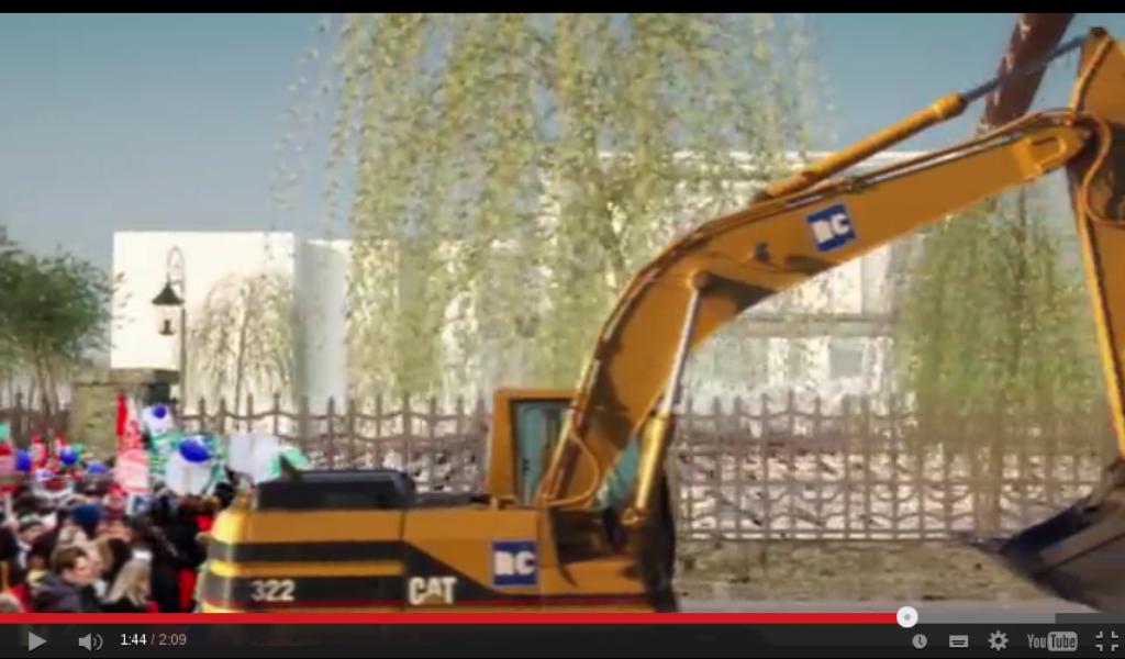 "Screenshot YouTube-Video: ""Die Toten kommen"""