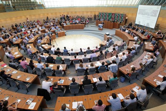 Landtag NRW, Foto: Schälte, Bernd © Alle Rechte beim Landtag NRW