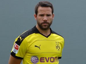 Neuzugang Gonzalo Castro und der BVB sind am Freitag zu Besuch in Bochum. Foto: Robin Patzwaldt
