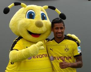 Jeremy Dudziak zum Saisonstart in Dortmund. Foto: Robin Patzwaldt
