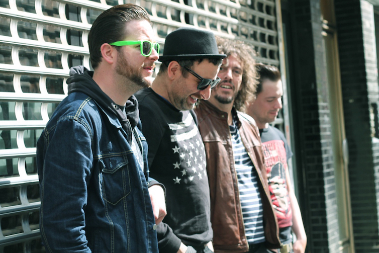 Egotronic von links nach rechts: Reuschi, Torsun, Killian und Chrü - Fotograf: Marie Kurth