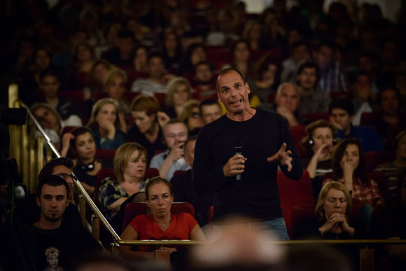 Yanis Varoufakis  in Belgrad Foto: Robert Crc Lizenz: FAL 1.3