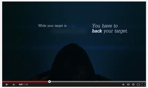 Werbefilm des Hacking Team auf YouTube, Screenshot