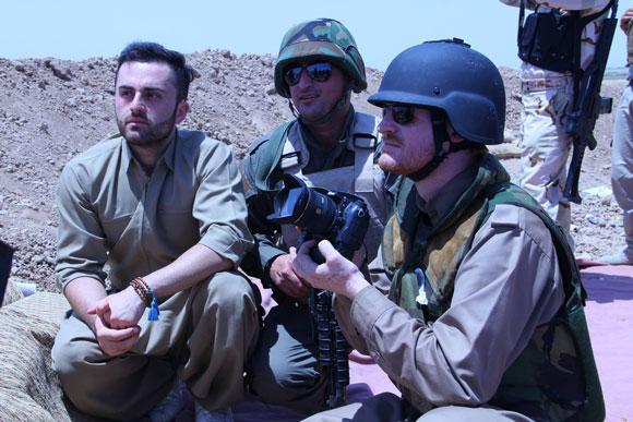Enno Lenze in Kurdistan Bildrechte: Enno Lenze