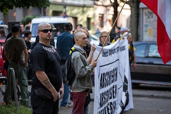 Neonazis in Dortmund. Foto: Felix Huesmann