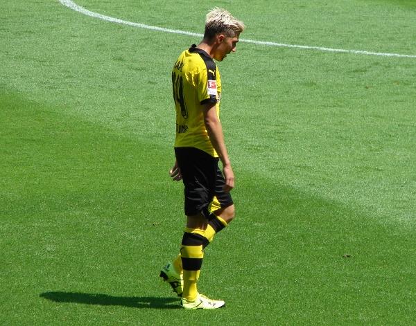 Kevin Kampl machte beim BVB zuletzt häufig einen unglücklichen Eindruck. Foto: Robin Patzwaldt