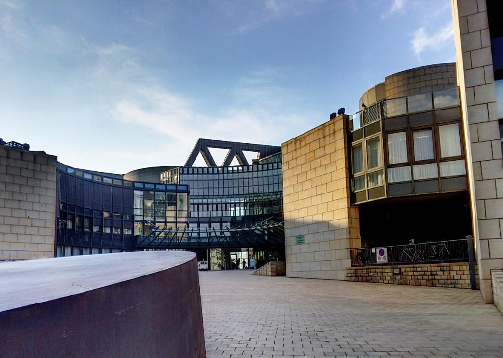 Gebäude des NRW-Landtags in Düsseldorf