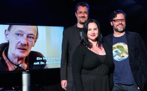 Werden zur Kinopremiere in Dortmund sein: Produzenten Waschkau, Waschkau und Bartoschek (v.l.n.r.) (Foto: Arne Nissen)