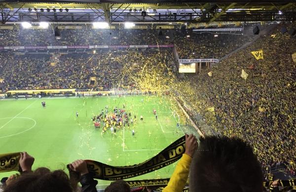 Große Emotionen am samstag in Dortmund. Foto(s): Lena Dierich