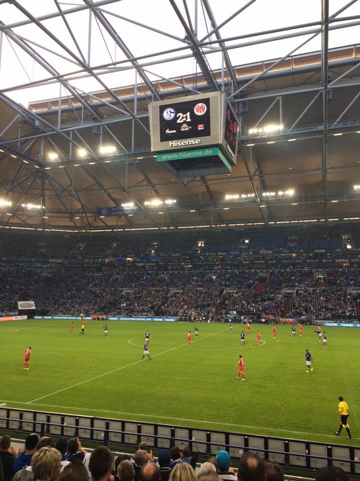 Fußball in Gelsenkirchen. Foto: Michael Kamps