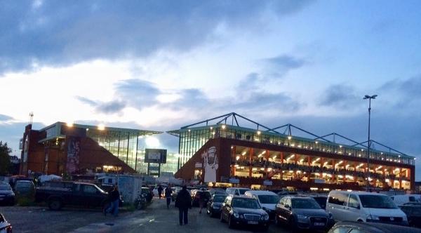 Das Stadion des FC St. Paili in Hamburg. Foto: Daniel Jentsch