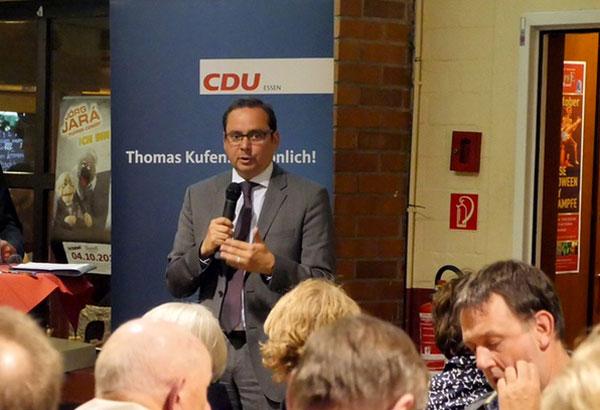 Thomas Kufen, CDU-Kandidat in Essen Foto: HP