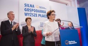 Hat nichts mehr zu lachen: PO-Vorsitzende Ewa Kopacz