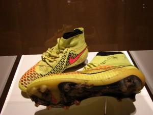Mit diesen Schuhen wurde das WM-Finalke gewonnen. Foto: Robin Patzwaldt
