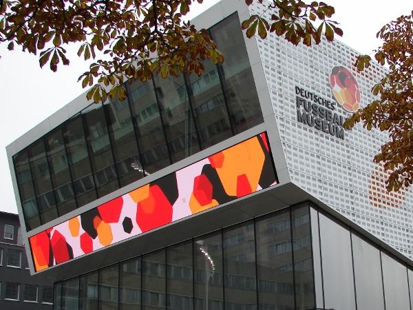 Das DFB-Museum in Dortmund. Foto: Robin Patzwaldt