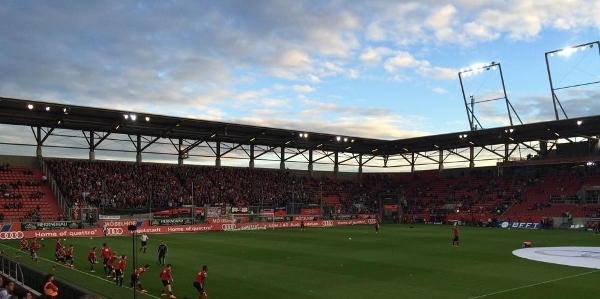 Fußball in Ingolstadt. Foto: Daniel Jentsch
