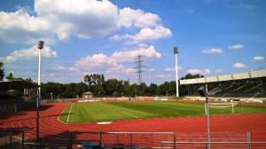 Das Stadion in Wattenscheid. Foto: SGW09