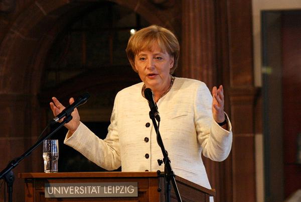 Angela Merkel Foto: Pixelfehler Lizenz: CC BY-SA 3.0