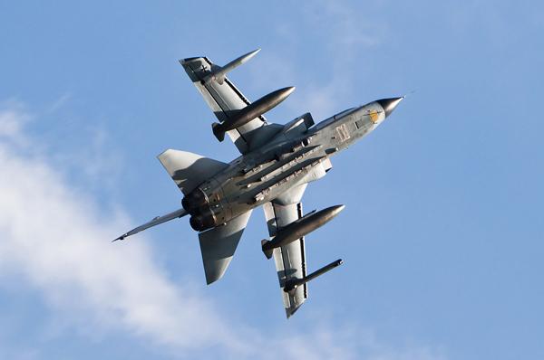 Tornado der deutschen Luftwaffe Foto: Julian Herzog Lizenz: CC BY 4.0
