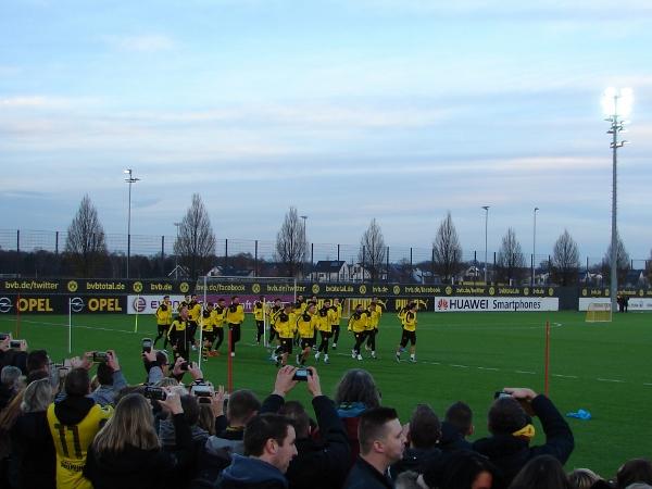 Aktuell ist der BVB noch in der Trainings- und Vorbereitungsphase. Foto: Robin Patzwaldt