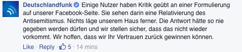 Screenshot: Facebook/Deutschlandfunk