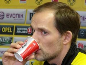 BVB-Trainer Thomas Tuchel hat jetzt einen 'engen Kader'. Foto: Robin Patzwaldt