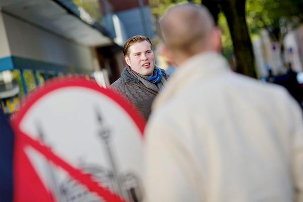 PRO NRW Ratsmitglied Christoph Schmidt Foto: Roland Geisheimer / attenzione