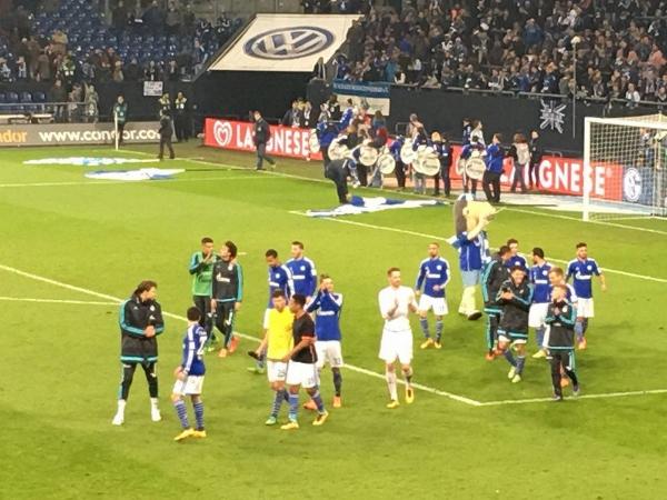 Auch auf Schalke durfte man am Mittwoch wieder jubeln. Foto: Michael Kamps