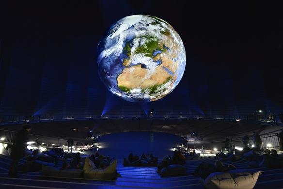 Die Erde Foto: Thomas Wolf
