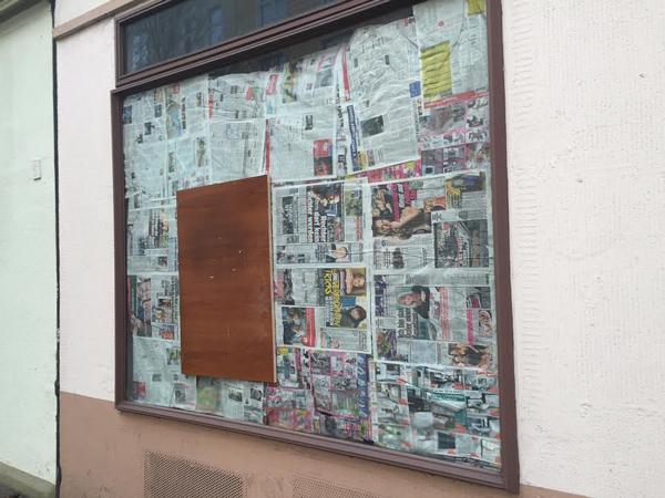 Von Nazis angegriffener Buchladen in der Nordstadt