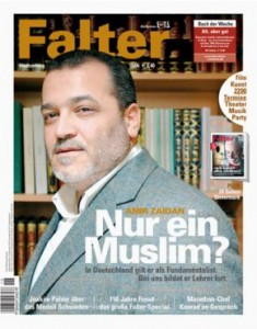 Soll in Duisburgs Uni reden dürfen - Amir Zaidan. Bild: Falter.