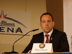 Bundestrainer Marco Sturm.