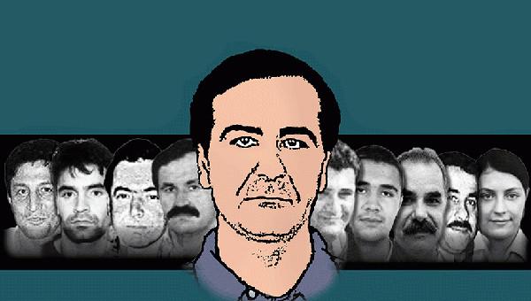 Mordopfer des NSU, in der Mitte Mehmet Kubasik
