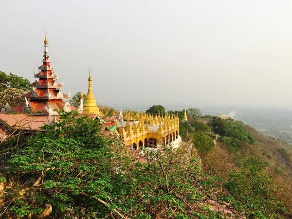 Blick vom Mandalay.
