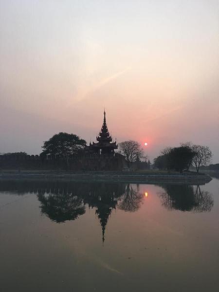 Mandalay Palast.