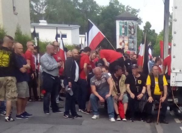 Kleine Pause von der nationale Erhebung: Nazis in Huckarde