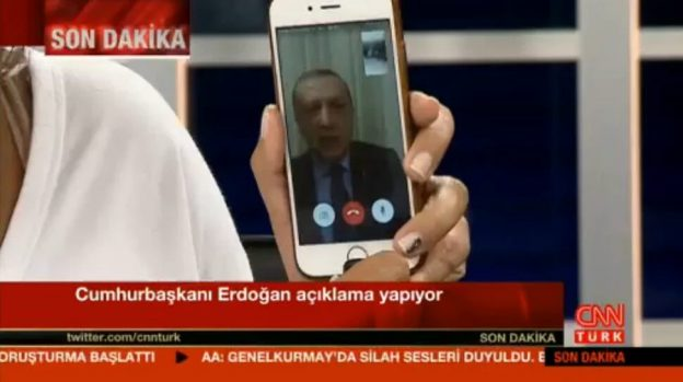 Screenshot: CCN Türkei