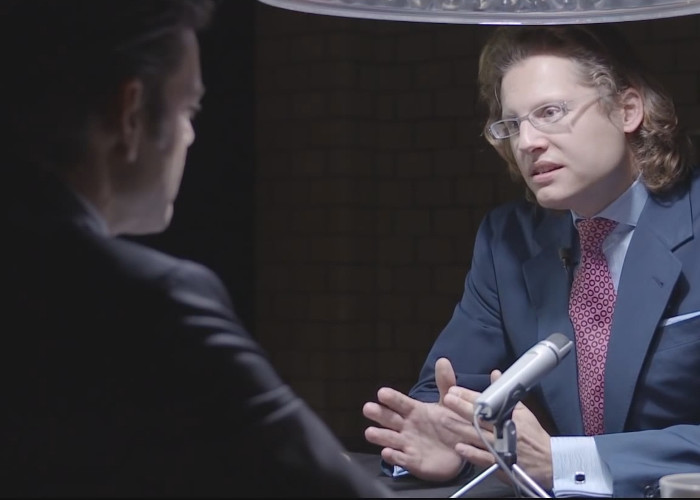 Martin Lejeune im Interview beim VerschwörungstheorieN- Kanal KenFM, Bild: Screenshot