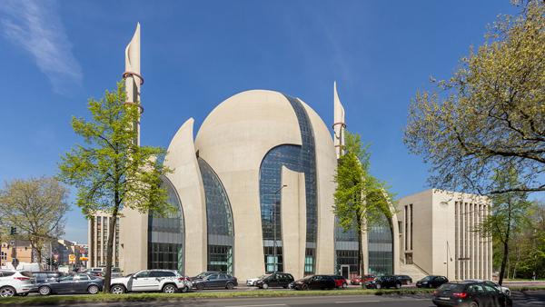 DITIB Moschee in Köln Foto: Raimond Spekking, © , CC BY-SA 4.0