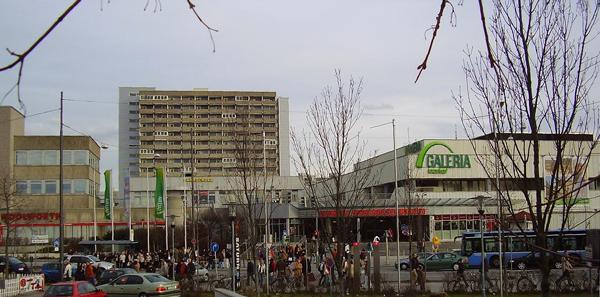 Olympia-Einkaufszentrum in München Foto: Gamsbart  Lizenz: CC BY 3.0 DE