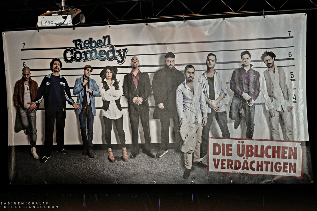 [Rebell Comedy - 16.6.2015 / Essen Weststadthalle]