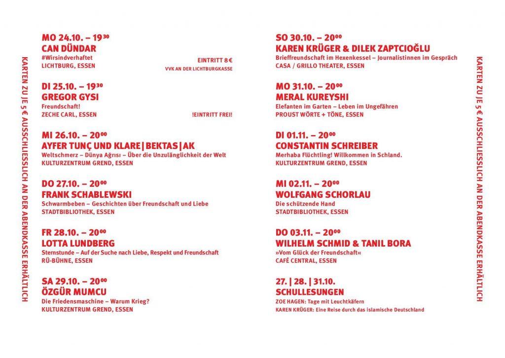 Programm Literatürk 2016