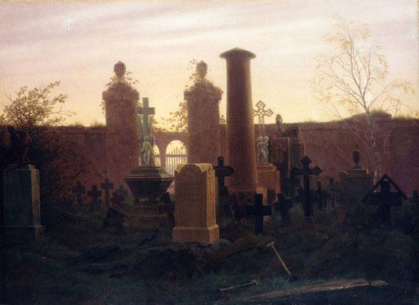 Caspar David Friedrich: Kügelgens Grab