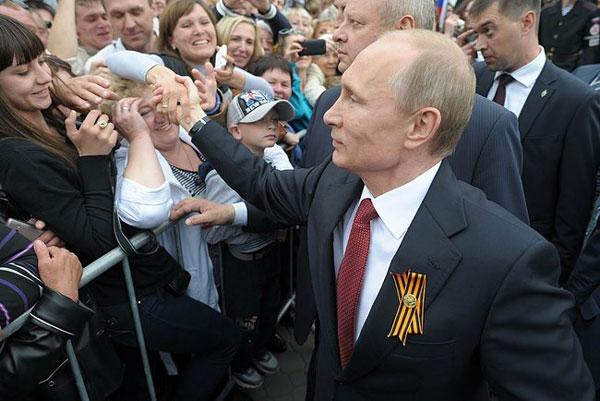 Putin Trump Wahl Russen