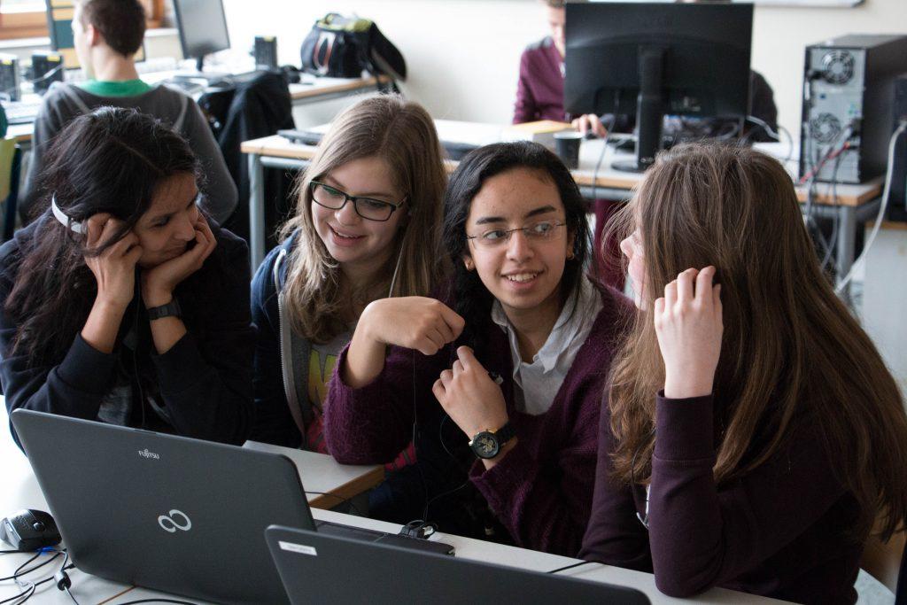 Ein Computerraum in einer Schule in Gelsenkirchen - Foto: Michael Voregger