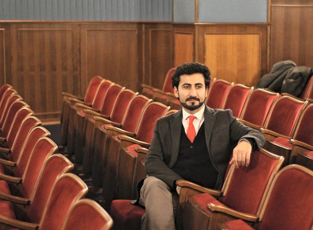 "Sayed Omid Sami im Essener Kino ""Filmstudio Glückauf"""